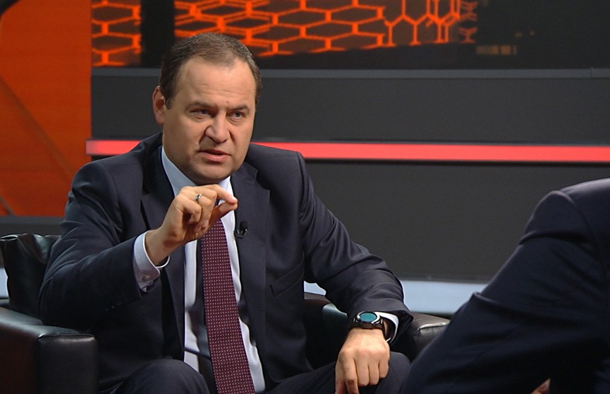 Премьер-министр Беларуси: Тот, кто владеет медиапространством, может воздействовать на большие массы людей