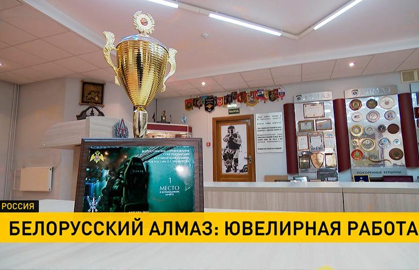 Белорусский «Алмаз» занял первое место в соревнованиях среди специальных отрядов быстрого реагирования