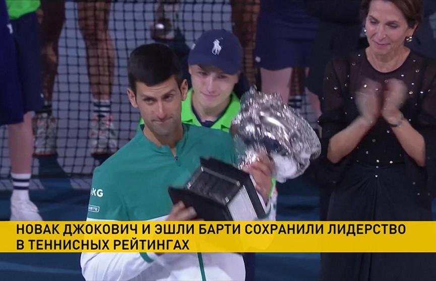 Новак Джокович довёл количество своих трофеев на турнирах «Большого шлема» до 18