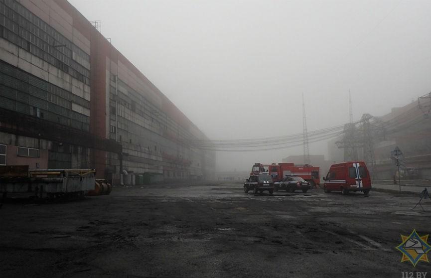 В цехе «Белшины» вспыхнул пожар