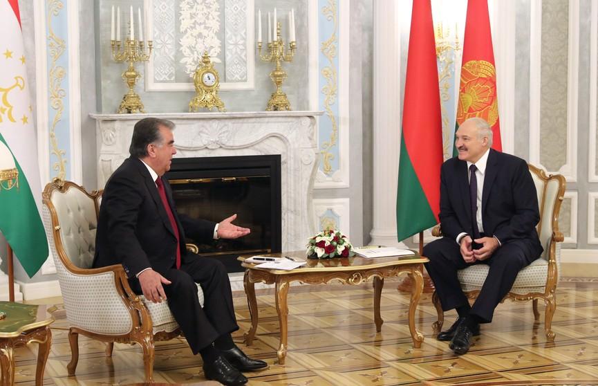 Лукашенко и Рахмон подписали договор о стратегическом партнёрстве Беларуси и Таджикистана