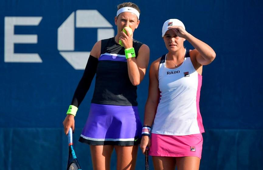 Три белоруски выступят в четвертьфинале парного разряда US Open