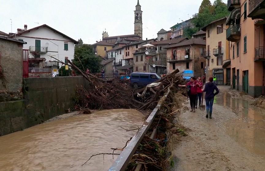 В Италии наводнение: реки вышли из берегов