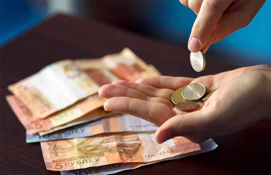 Ресурсы домашних хозяйств белорусов составили 1290,3 рубля в месяц