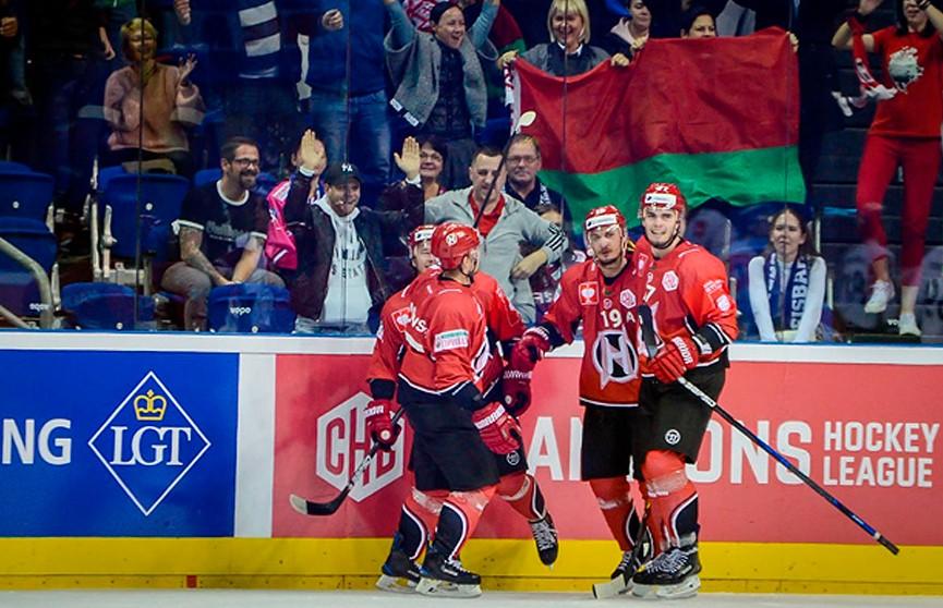 «Неман» уступил «Айсберену» в Лиги чемпионов по хоккею и  утратил шансы на выход в плей-офф