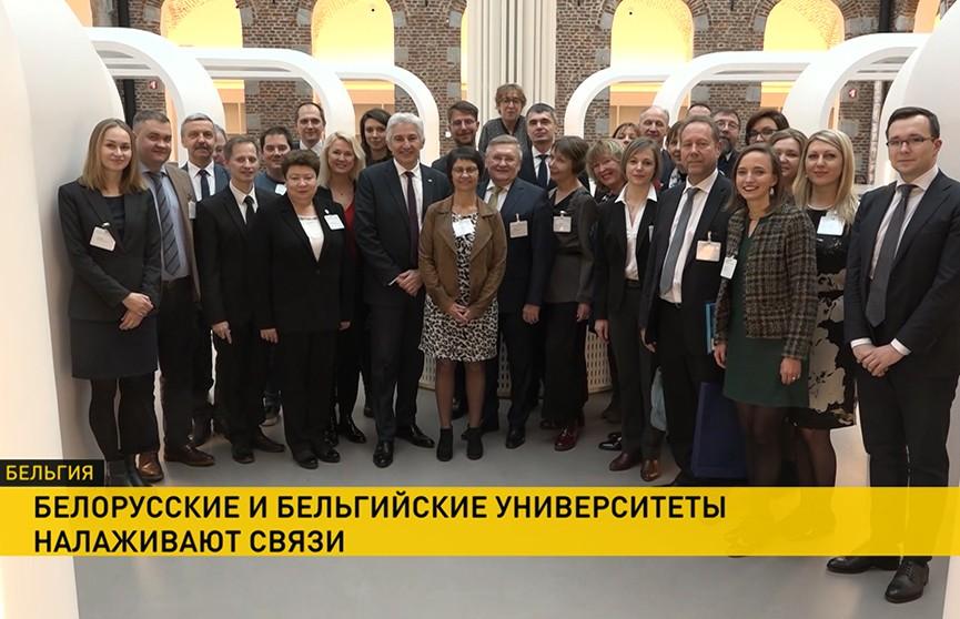 Международное сотрудничество: делегация вузов Беларуси прибыла в Брюссель