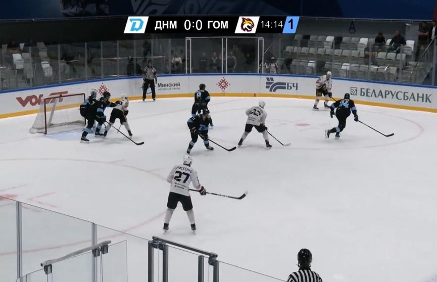 Хоккеисты «Гомеля» и «Динамо-Молодечно» – в шаге от выхода в «Финал четырех» Кубка Салея