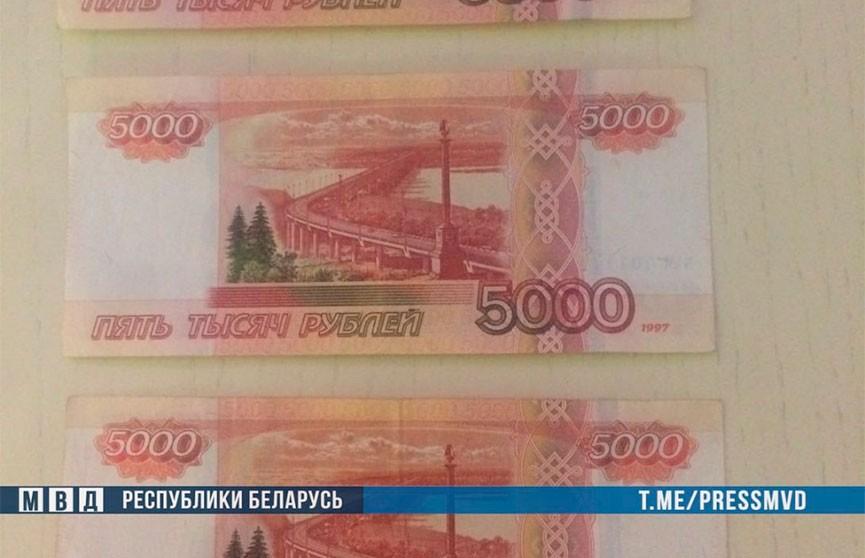 В России задержали промышлявшего в Беларуси серийного фальшивомонетчика