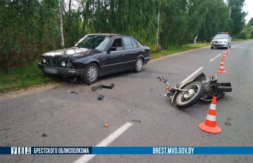 Два бесправника устроили ДТП в Ивановском районе