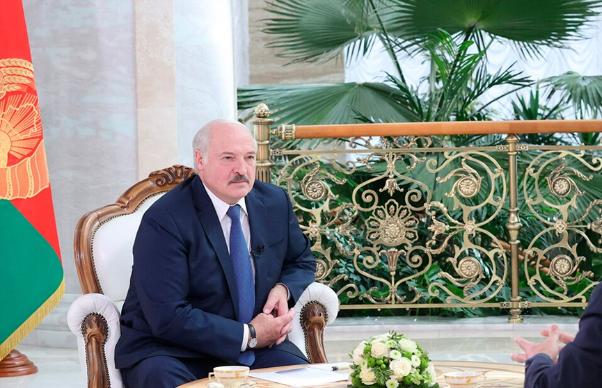 Лукашенко в интервью телеканалу Sky News Arabia: За провокациями прежде всего стоят США, их спецслужбы