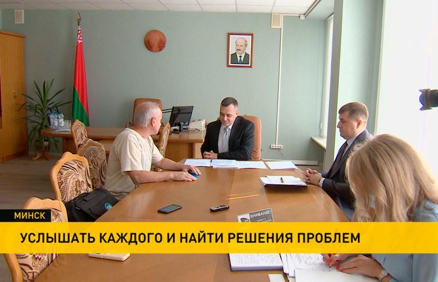 Александр Субботин провел личный прием граждан