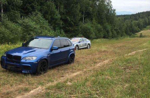 250 км/ч: ГАИ преследовала BMW под Минском (ВИДЕО)