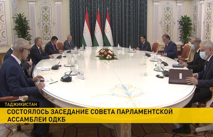 Андрейченко принял участие в выездном заседании Совета Парламентской Ассамблеи ОДКБ