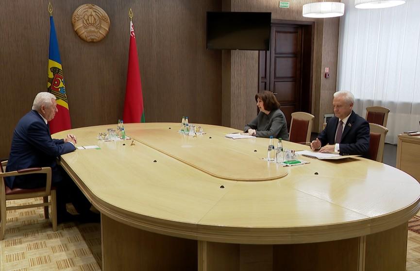 Беларусь надеется активнее развивать экономическое сотрудничество с Молдовой