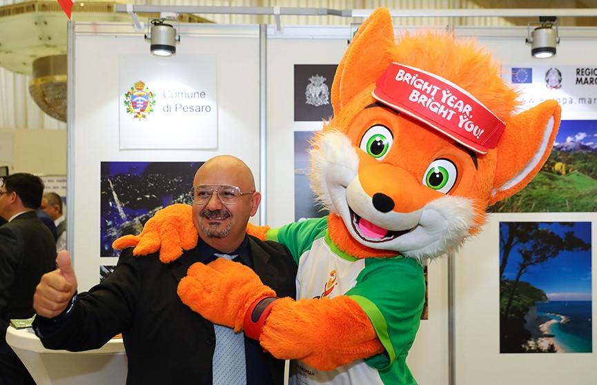 Вторым Европейским играм посвящён сегодняшний день на туристической ярмарке в Минске
