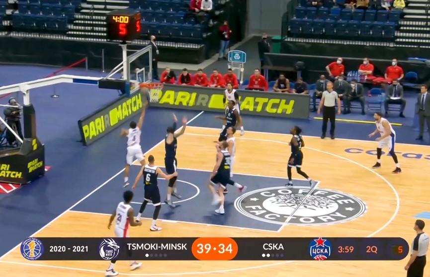 Баскетболисты «Цмокi-Мiнск» в четвертый раз проиграли в Единой лиге ВТБ
