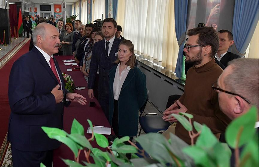 Лукашенко о провокациях на выборах: «Начинают на зуб пробовать»