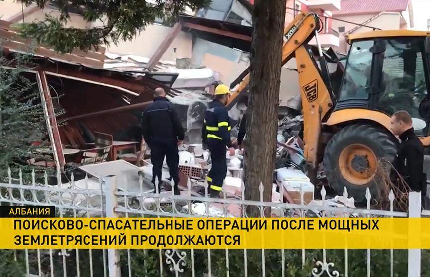 В Албании растет число погибших в результате землетрясения