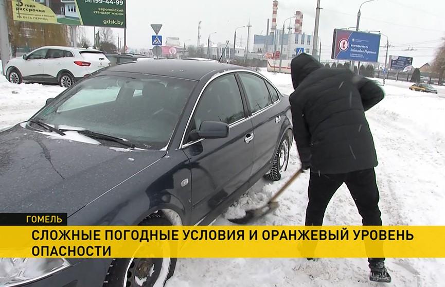 Небывалые сугробы в Беларуси: аварийные службы перешли на усиленный режим работы