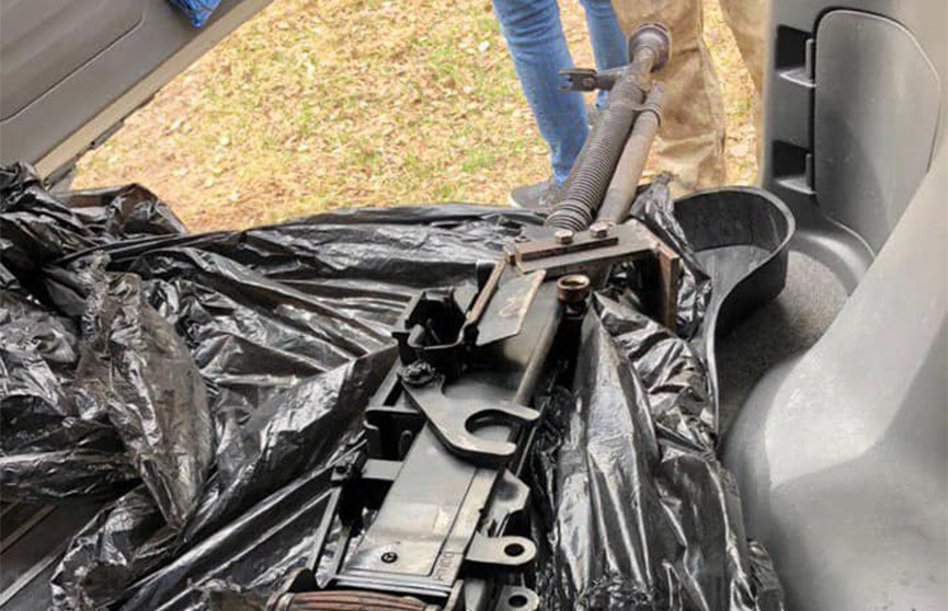 Вооруженная пулеметами банда готовила нападение на криминального авторитета неподалёку от дома Зеленского