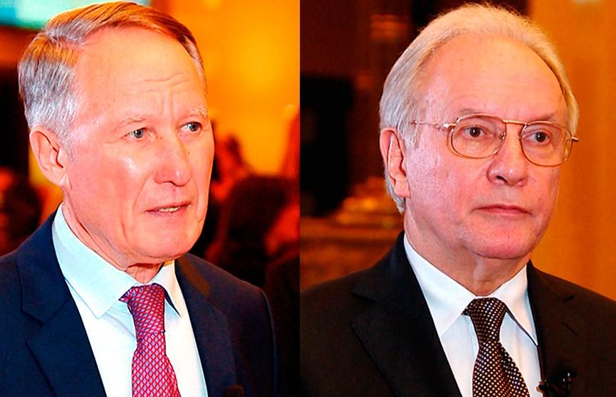 Бывшие министры иностранных дел Беларуси Урал Латыпов и Сергей Мартынов вспомнили о своей работе и назвали её главный результат