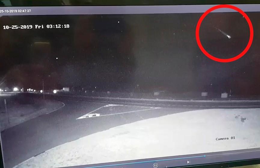 Видеофакт: под Браславом упал метеорит