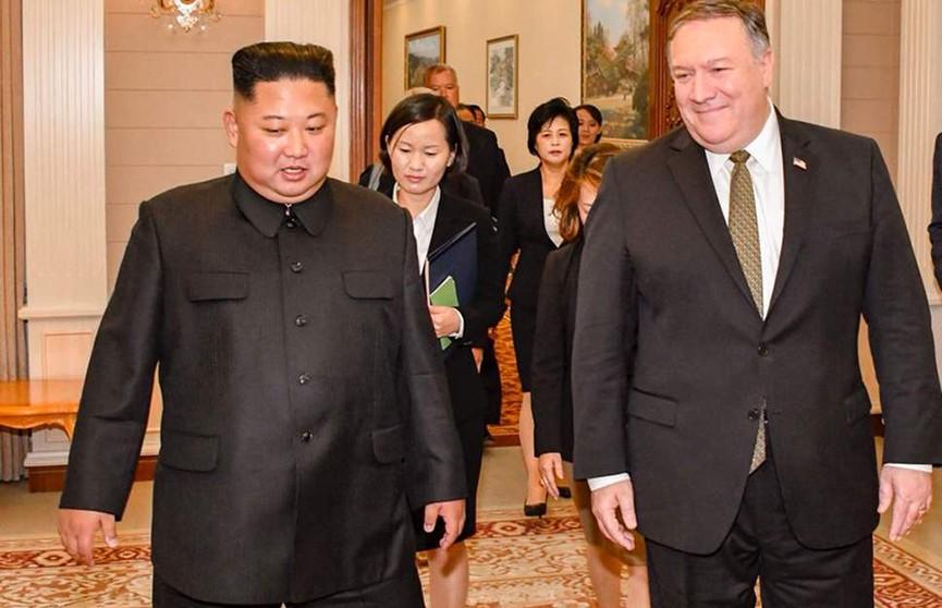 Ким Чен Ын провёл переговоры с госсекретарём США