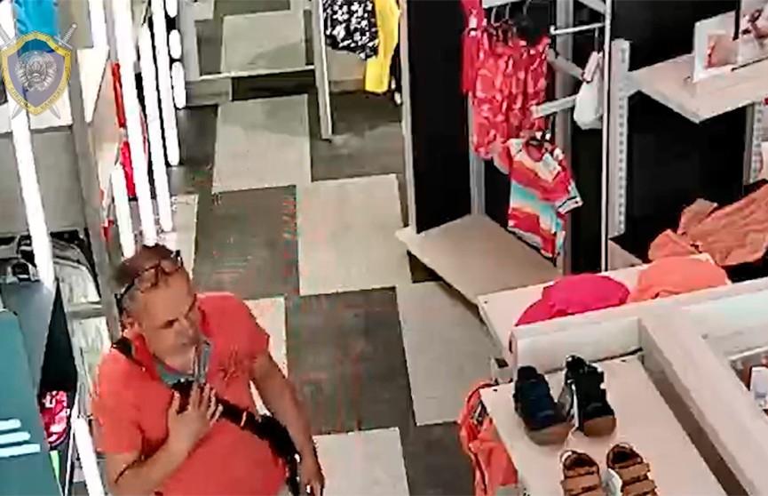 Внимание! Разыскивается подозреваемый в хищении детской одежды из магазина в Минске