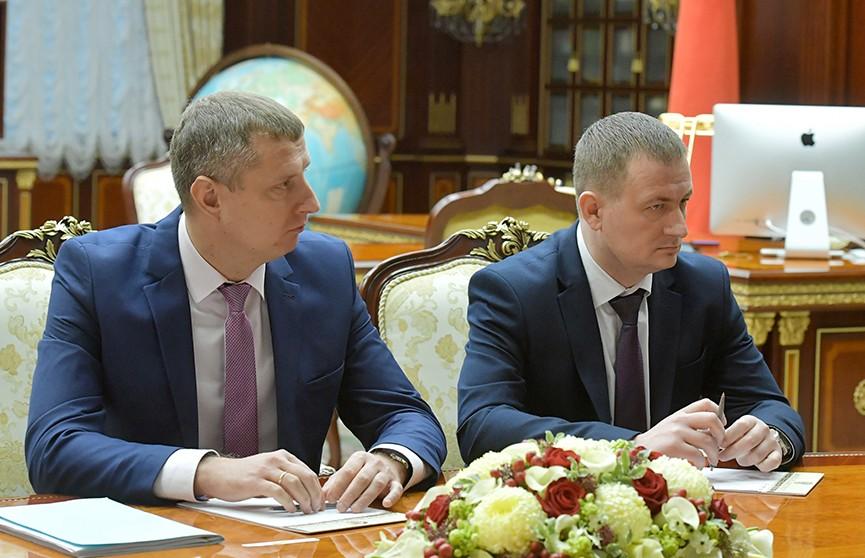 Лукашенко назначил Крутого первым вице-премьером, а Турчина – губернатором Минской области