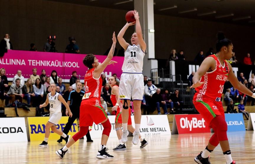 Женская сборная Беларуси по баскетболу разгромила эстонок в Таллине