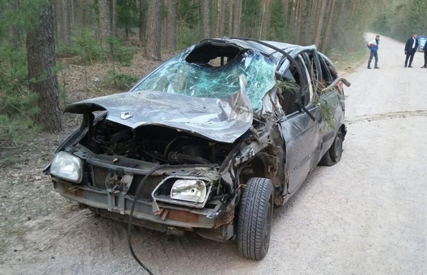 Легковушки перевернулась несколько раз в Шумилинском районе: троих выбросило из авто