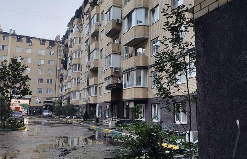 Локальный режим ЧС ввели в Краснодаре из-за крупного пожара в жилом доме