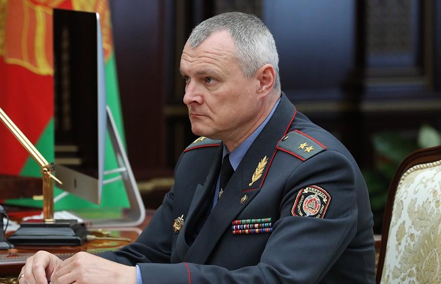 Министр МВД Беларуси Игорь Шуневич подал рапорт об отставке