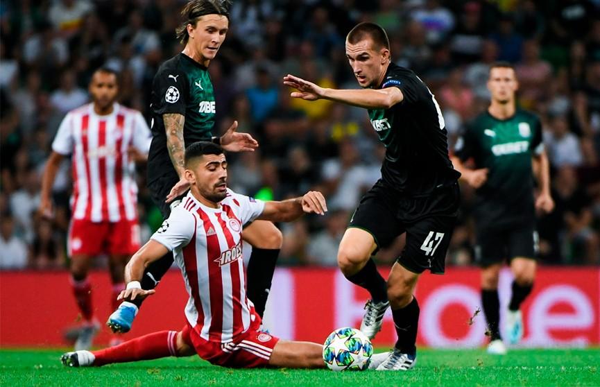 ФК «Краснодар» не прошел в групповой этап Лиги чемпионов