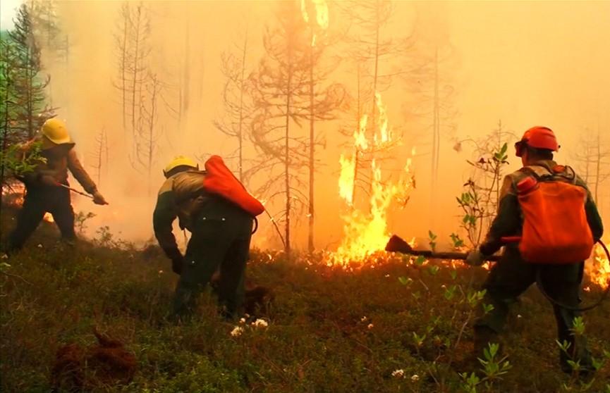 К тушению пожаров в Сибири привлекли шаманов