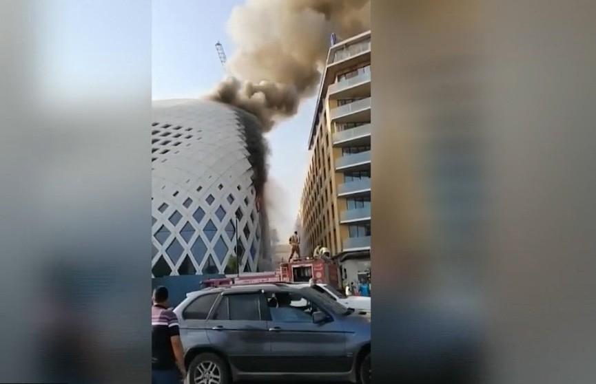 Пожар в Бейруте: возгорание произошло в историческом здании