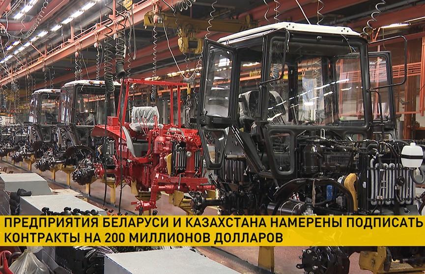 Беларусь и Казахстан намерены подписать контракты на $200 млн