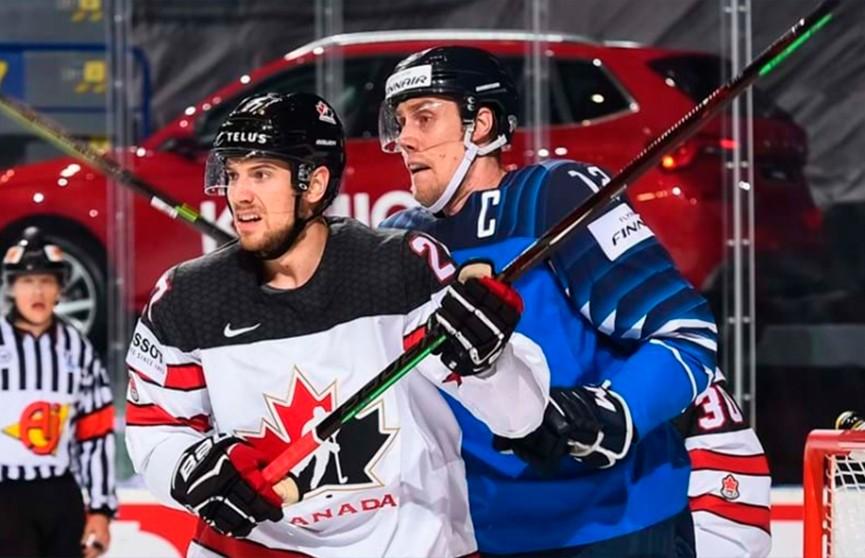 Сборные Канады и Финляндии сыграют в финале чемпионата мира по хоккею