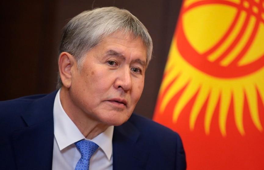 Экс-президент Кыргызстана Атамбаев сдался силовикам