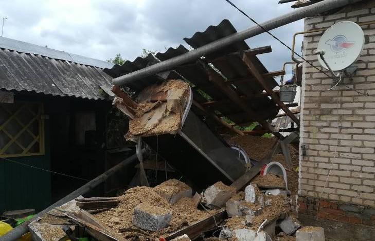 Взрыв в частном доме в Лепеле. Два человека пострадали