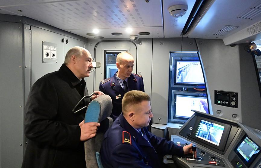 Третья линия минского метро открыта! Участие в церемонии принял Александр Лукашенко. Как это было