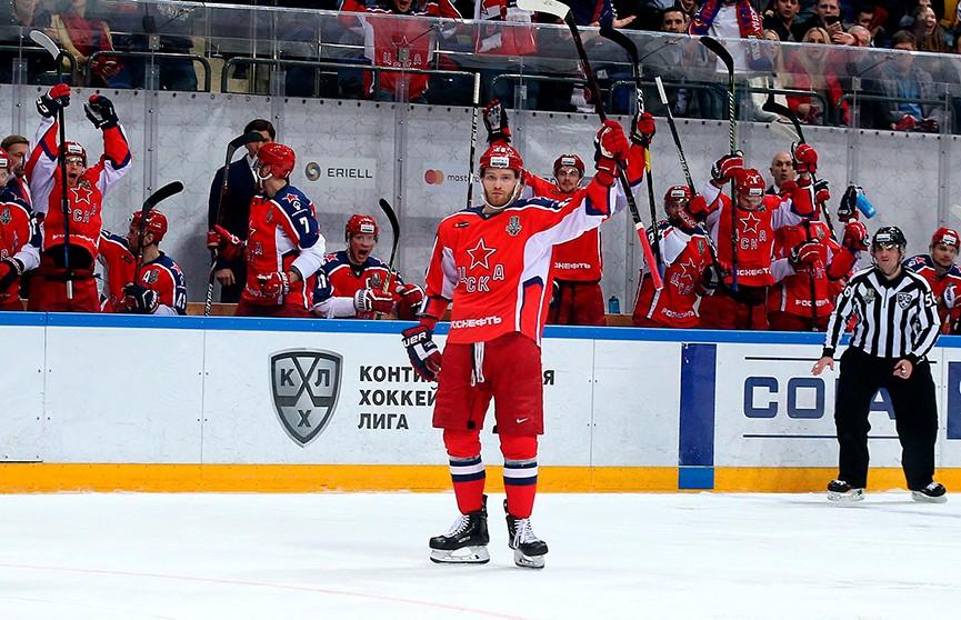 Кубок Гагарина: ЦСКА во втором матче обыграл подмосковный «Витязь»