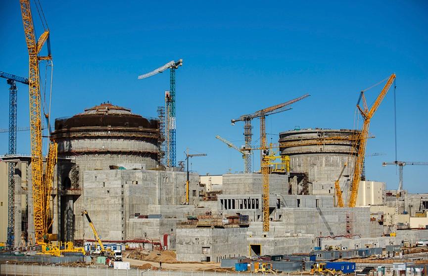 Белорусские студенческие отряды участвовали в строительстве АЭС