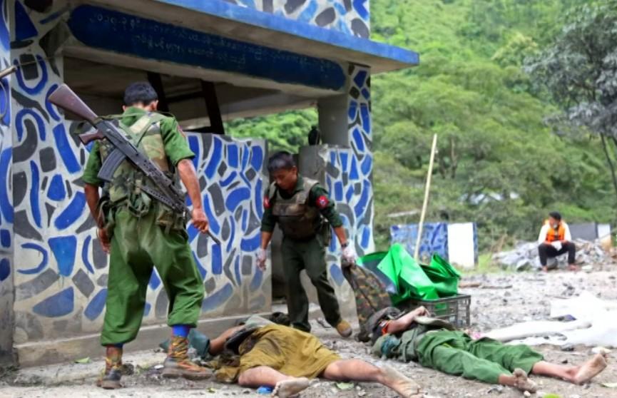 В Мьянме вооружённые повстанцы напали на военную академию: есть погибшие