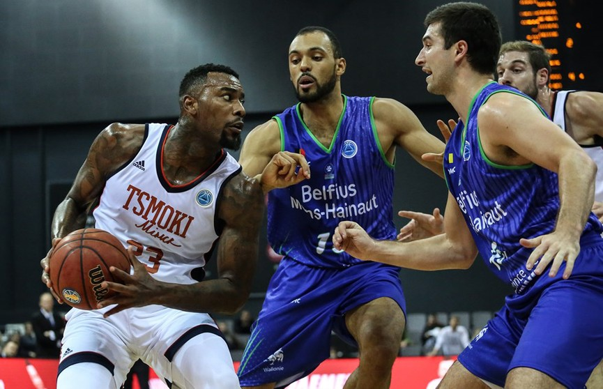 Бельгийский «Белфиус» нанёс поражение «Цмокам» в Кубке FIBA
