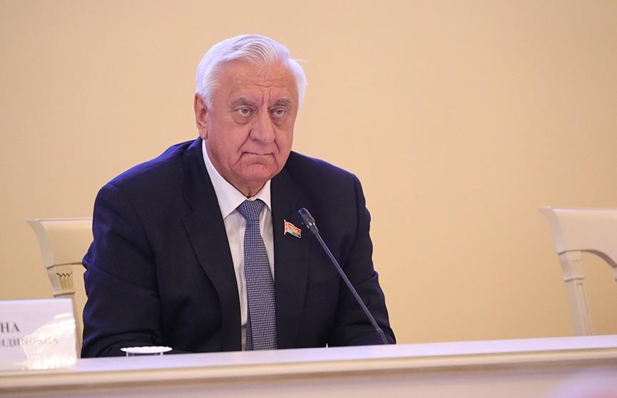 Мясникович о выводе российским бизнесом капитала из Беларуси: Мы не должны не замечать эти вещи
