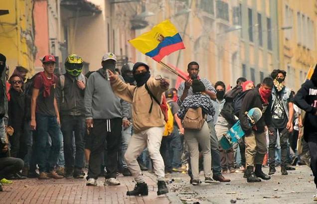 В Эквадоре вспыхнули протесты из-за экономической политики
