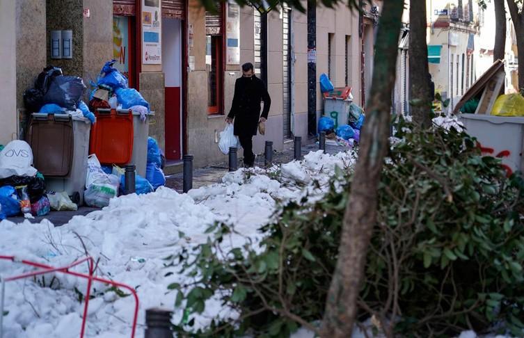 Мадрид могут объявить зоной катастрофы из-за урагана «Филомена»