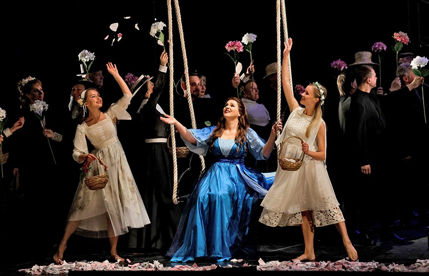 На главной оперной сцене Беларуси представили оперу «Виллисы. Фатум»