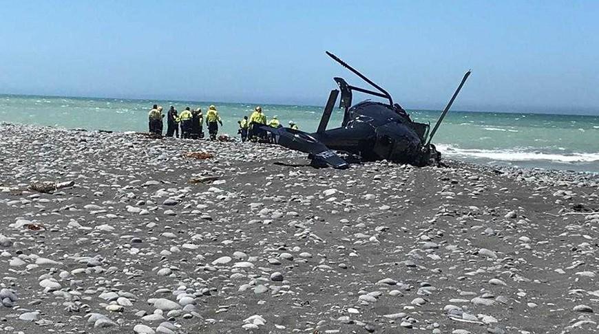 В Новой Зеландии разбился вертолет. Два человека погибли